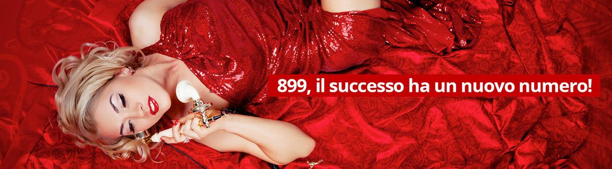 899, il successo ha un nuovo numero!